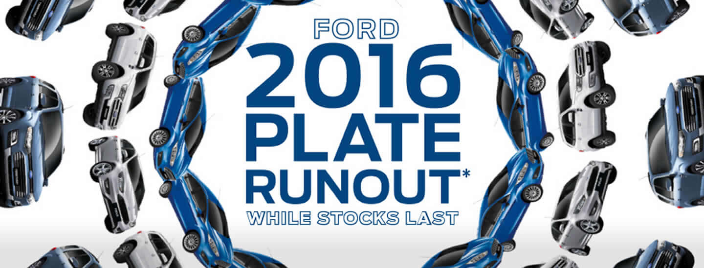Ford 2016 Plate Runout